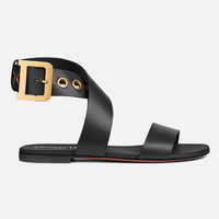 Dior D-DIOR Calf Leather Sandals