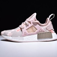 """""""Adidas"""" NMD XR1 Duck Camo Trending Classic Women Men Casual Running Sport Shoes Sneakers Camouflage Pink I"""