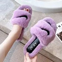 NIKE Slippers Women Winter Indoor New Flip-Flops Home Furnishing Thick Soled Outer Wear Slippers