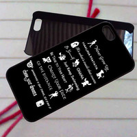 Disney Lessons Learned Mash Up - case iPhone 4/4s,5,5s,5c,6,6+samsung s3,4,5,6