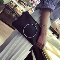 2017 NEW Fashion Ladies handbags leather Big Circle Shoulder Bag Small Tote Ladies Purse women bag bolsos mujer#LREO-in Shoulder Bags from Luggage & Bags on Aliexpress.com | Alibaba Group