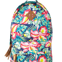 Island Girl Canvas Backpack