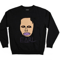 EARL CREW NECK SWEATSHIRT BLACK by Odd Future | Odd Future