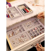 1pc Jewelry Storage Box