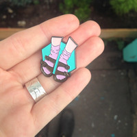 Preorder: Socks and Sandals Pin