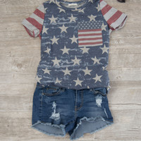 Vintage Fourth of July Top