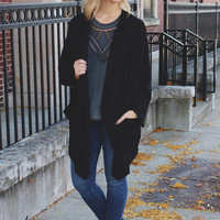 Dark as Night Cardigan