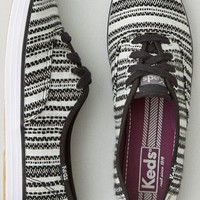 AEO Women's Keds Champion Metallic Woven Stripe Sneaker