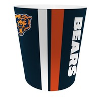 Chicago Bears NFL 10 Bath Waste Basket