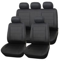 Furnistar 9-Piece Luxury Leatherette Car Vehicle Protective Seat Covers