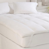 Down and Feather Twin Mattress Topper