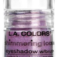 L.A. Colors Shimmering Loose Eyeshadow Grape Jelly BES406