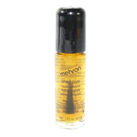 Mehron Spirit Gum Adhesive Special Eeffect Glue Make Up 0.125 OZ (4 ml)