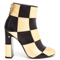 LAURENCE DACADE | Flaubert Checked Leather Ankle Boots | Browns fashion & designer clothes & clothing