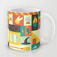 King's Cross - Harry Potter Mug by Ariel Wilson