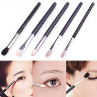 4 PCS Different Styles Goat Hair Professional Makeup Brushes Set Powder Foundation FREE SHIPPING