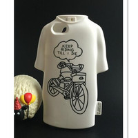 T-Shirt Shape Phone Case Cover in 2 Colors and 8 Patterns for iPhone 6S & iPhone 6S Plus