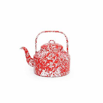 Enamelware Tea Kettle