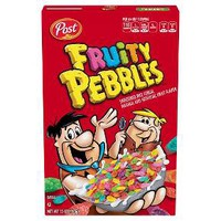 Fruity Pebbles Breakfast Cereal - Post