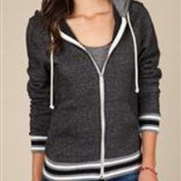 Women's Hoodies | Woody Zip Hoodie | Alternative Apparel