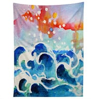Ginette Fine Art Tides Of Time Tapestry