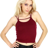 STRAP TRAP CROP TOP