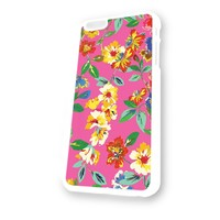 Kate Spade Floral 1 White Plastic For iPhone 6 Case