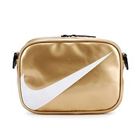 NIKE Summer Popular Women Men Crossbody Satchel Shoulder Bag Golden