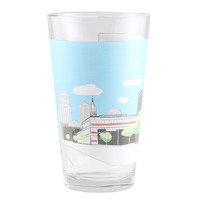 Kansas City Crossroads Pint Glass