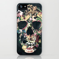 Vintage Skull iPhone & iPod Case by Ali GULEC