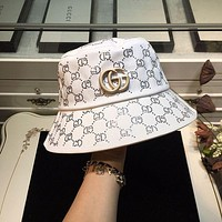 Gucci Newest Popular Women Men Sports Uv Protection Sun Hat Visor Hat Cap-10