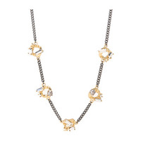 Marc by Marc Jacobs Link To Katie Embellished Linked Necklace