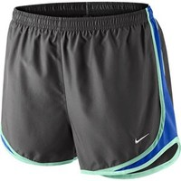 Women's Nike Tempo Track Running Shorts Ash/Cobalt/Mint at Sport Seasons