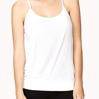 Pleated Workout Tank