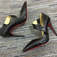 Christian Louboutin Cl Pumps High Heels Reference #02bk40 - Best Deal Online