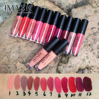 IMAGIC lip kit Rare Lip Paint matte lipstick Waterproof Strawberry Long Lasting Gloss FB lip gloss