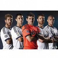 Real Madrid F.C. Poster Players 115