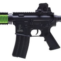 Zombie Hunter Blaster Airsoft Rifle, Black and Green