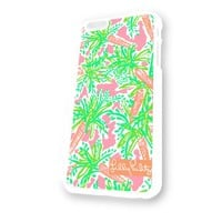 Kate Spade Lilly Pultizer 1 White Plastic For iPhone 6 Case