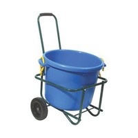 Dura-Tech® Muck Bucket Cart in Grooming Racks / Muck Carts