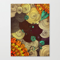Earth Stretched Canvas by DuckyB (Brandi)