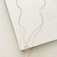Maneto Pendant Necklace by Anthropologie in Gold Size: One Size Necklaces