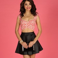 Sale-kiss Me All Over Bandage Crop Top