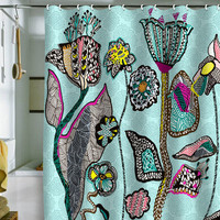 DENY Designs Home Accessories   Mikaela Rydin The Garden Within Shower Curtain