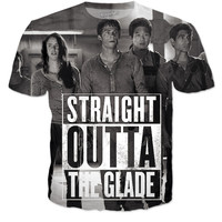 Straight out of the Glade Maze Runner Shirt