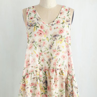 Mid-length Sleeveless Dancing in the Sweet Top by ModCloth