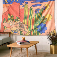 Retro Desert Landscape Tapestry - Urban Outfitters
