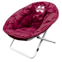 Mississippi State Bulldogs NCAA Adult Sphere Chair