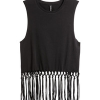 H&M Top with Fringe $12.99