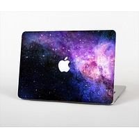 The Vibrant Purple and Blue Nebula Skin Set for the Apple MacBook Air 13""